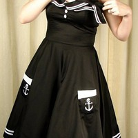 Hell Bunny | Motley Sailor 50s Dress