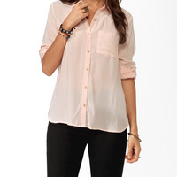 Longline Pocket Shirt