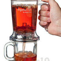 ingenuiTEA Teapot: Loose Leaf Tea Made Easy