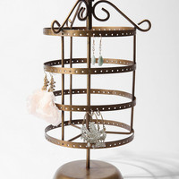 Spinning Bird Jewelry Stand