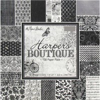 "8"" x 8"" Harper's Boutique Paper Pack 
