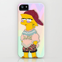 chic lisa simpson iPhone Case by Sara Eshak | Society6