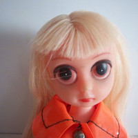Susie Sad Eyes Suzie Slicker Susy Suzy Doll Blonde Hair