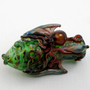 Octopus and Exotic Fish Thick Wall Hand Blown Glass Chillum