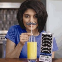 Stache Straws by GAMA GO