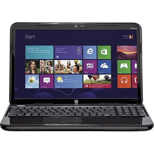"HP - Pavilion 15.6"" Laptop - 4GB Memory - 640GB Hard Drive - Sparkling Black"
