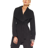 MICHAEL Michael Kors Wrap Coat - Michael Kors