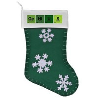 Felt Christmas Stocking Green Genius Periodic...