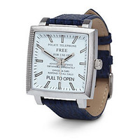 Doctor Who Designer TARDIS Watch