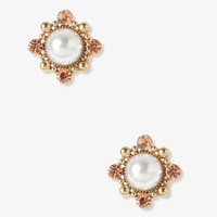 Sparkling Pearlescent Studs