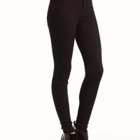 high-waisted-skinny-jeans BLACK BLUE INDIGO - GoJane.com