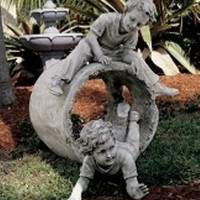 Garden Statues  | Hide and Seek Garden Sculpture