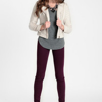 Kaleidoscope Tweed Jacket - $64.00: ThreadSence, Women&#x27;s Indie &amp; Bohemian Clothing, Dresses, &amp; Accessories