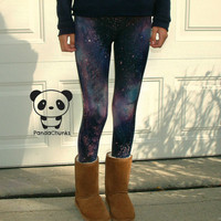 GALAXY LEGGINGS size large