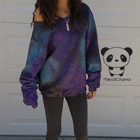 GALAXY SWEATSHIRT size small