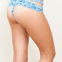 The Bikini Fox | Bardot Bottom [BARDOT-P-BL/PYT] - $86.00