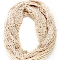 Ring Around the Cozy Infinity Scarf