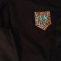Monogramed Pocket Sweatshirts