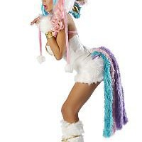 JV-JJ100 - 2 piece Josie Loves J Valentine Unicorn Halloween Costume - Storybook Land - Costumes -