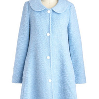 Cloud and Clear Coat | Mod Retro Vintage Coats | ModCloth.com