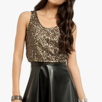 Sequin-tial Tank Top $29