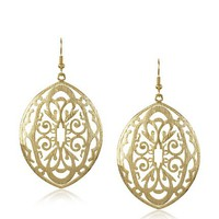 Courtney Kaye 14K Gold-Plated Artisan Earrings at MYHABIT