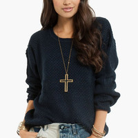 Trin-Knitty Sweater $42