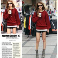 New Style Botton Back Attachment Design Sweater China Wholesale - Sammydress.com
