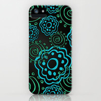mod flowers iPhone Case by Sylvia Cook Photography | Society6