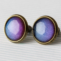 Cosmic Colors Glass Earrings