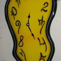 Melting Wall Clock Made to Order by PragmaticEffects on Etsy