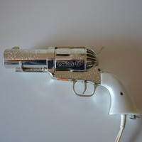 Magnum Gun Hair Dryer by Jerdon by PixelSicle on Etsy