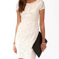 Essential Paneled Lace Dress | FOREVER21 - 2025101322