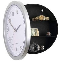 Secret Diversion Home Security Hidden Wall Hide Stash Safe Clock for Valueables