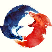 Ying yang Art Print by Robert Farkas | Society6