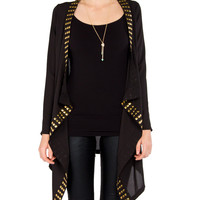 Studded Kimono Cardigan - 2020AVE