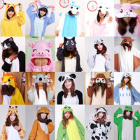 Adult Kigurumi Animal sleepsuit Cosplay Pajamas Costume Halloween All in one