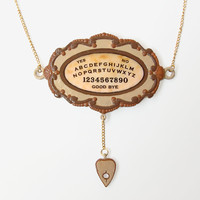Large Ouija Board Pendant And Gold .. on Luulla