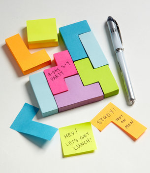 Block Sticky Notes | Block Notes | fredflare.com