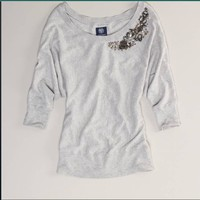 AE Holiday Sparkle Sweater - American Eagle Outfitters