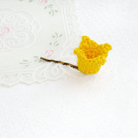 Princess gold yellow crown yellow Little queen Hair bobby pin