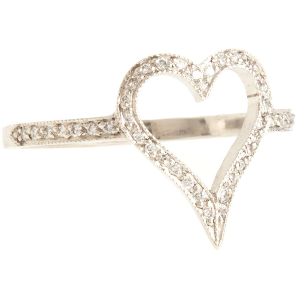 Cathy Waterman Open Heart Ring