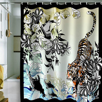 DENY Designs Home Accessories | Aimee St Hill Tiger Tiger Shower Curtain