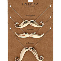 Mr Moustache Necklace - Jewelry  - Accessories