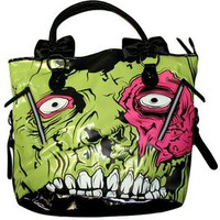 IRON FIST ZOMBIE STOMPER CHOMPER TOTE BAG HANDBAG PURSE