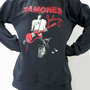 JOHNNY RAMONES Punk Rock Hard Rock Vintage Rock T-Shirt Long Sleeve Shirt Sweater Unisex T-Shirt Women Shirt Men Shirt Music T-Shirt Size XL