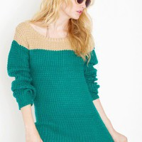 Louise Colorblock Knit - NASTY GAL