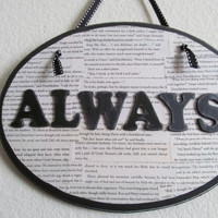 Harry Potter Always Oval Wall Decor