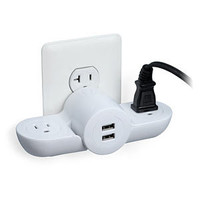 Pivot Power Mini - Wall Plug/USB Combo