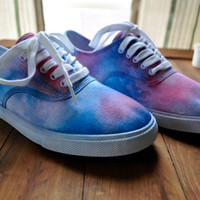 Tie Dye Sneakers   Made to order